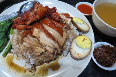 Yuan Cheng Wai - soya sauce chicken rice