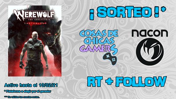 Sorteo Werewolf the apocalypse earthblood