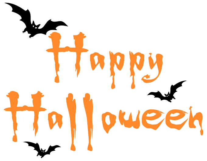 Halloween Party Font free png file