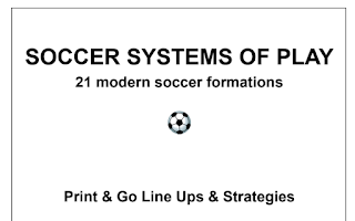 SOCCER SYSTEMS OF PLAY 21modern soccer formations