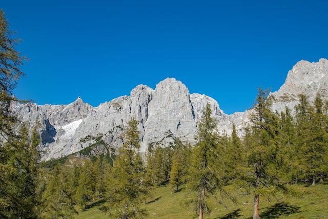 5-Hüttenweg und Jungfrauensteig  Wandern in Ramsau am Dachstein 05