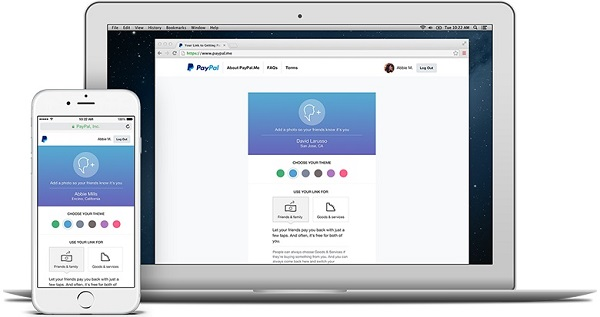 PayPal launches PayPal.me person-to-person payment service