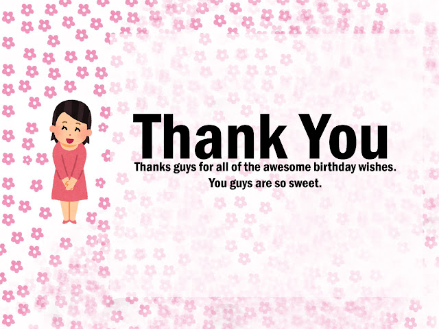 Thank you for the birthday wishes thanks for the birthday wishes i feel so blessed and loved m4hsunfo