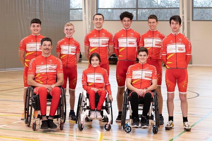 El Equipo Cofidis de Promesas Paralímpicas echó a rodar