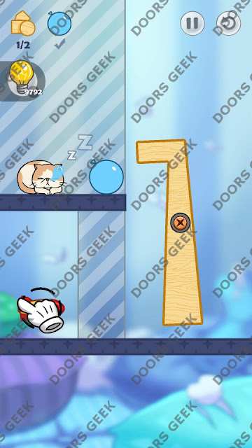 Hello Cats Level 140 Solution, Cheats, Walkthrough 3 Stars for Android and iOS