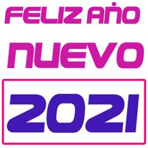 logo feliz año nuevo 2021 png