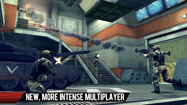 Modern Combat 4 : Zero Hour Versi 1.2.2e Apk Mod+Data