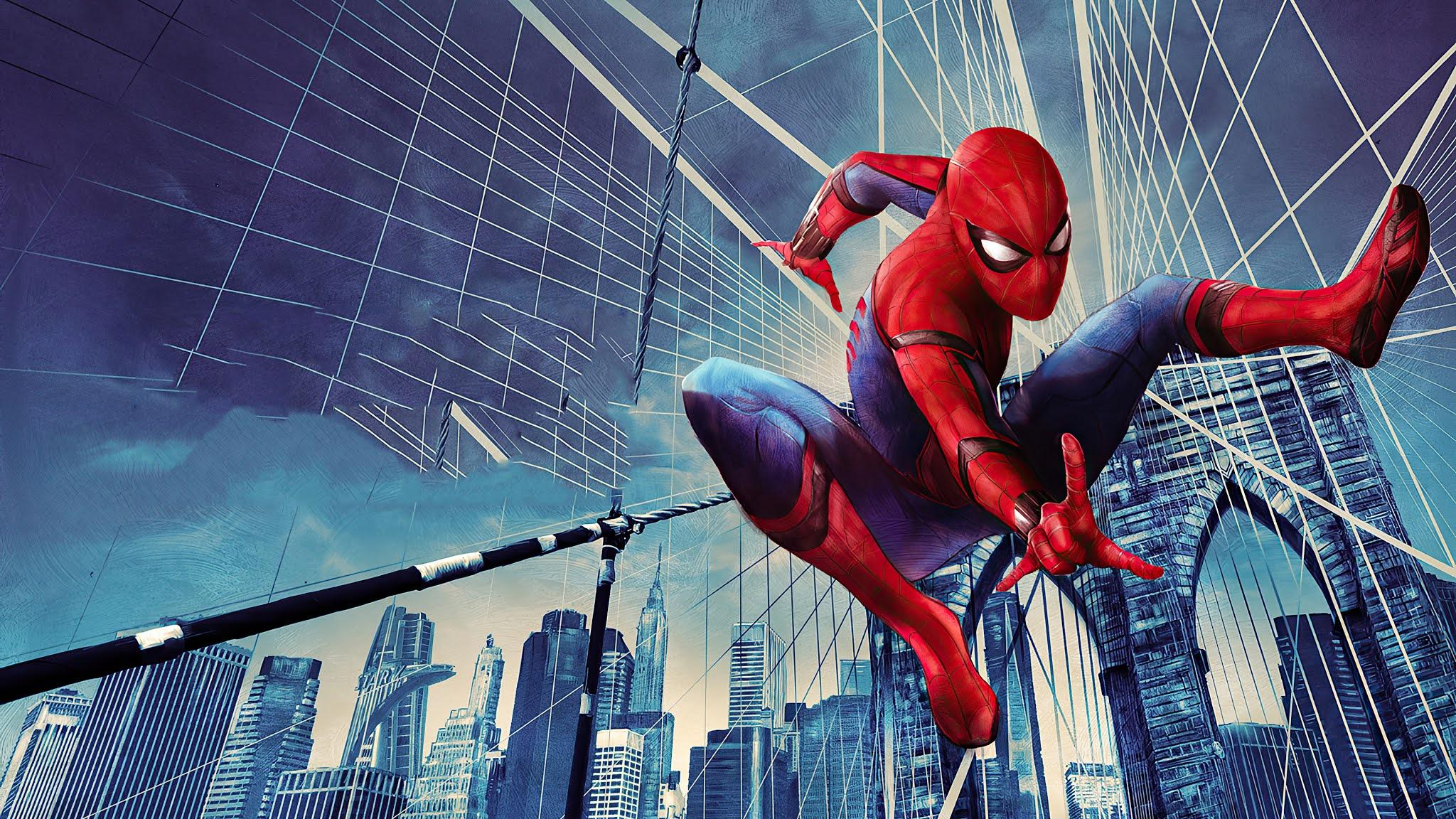 Peter Parker Spider Man Wallpaper hd