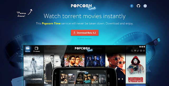 Popcorn Time - How to Download movies for free legally