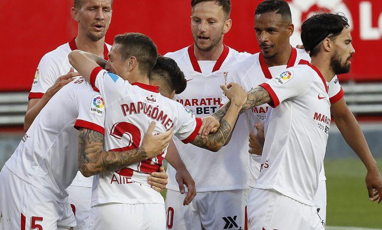ملخص واهداف مباراة اشبيلية وغرناطة (2-1) الدوري الاسباني