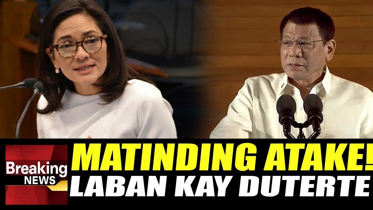 WATCH: Hindi Masisikmura ang Paninira ni Risa Hontiveros kay Duterte