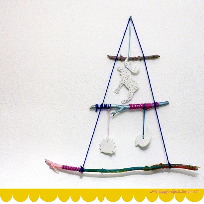 5 ecocrafs navideñas: ramas