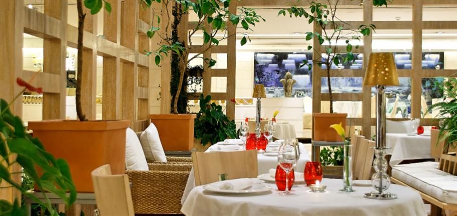 restaurante la manzana hesperia madrid