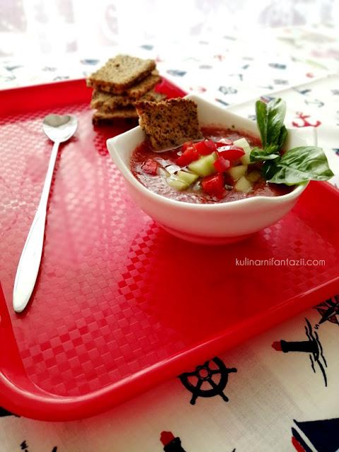студена доматена супа Гаспачо