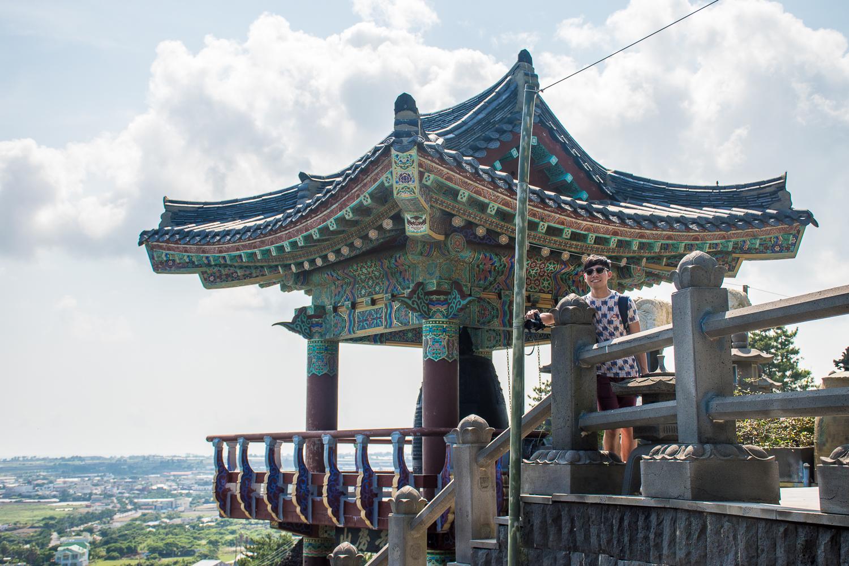temple at mt sanbang jeju