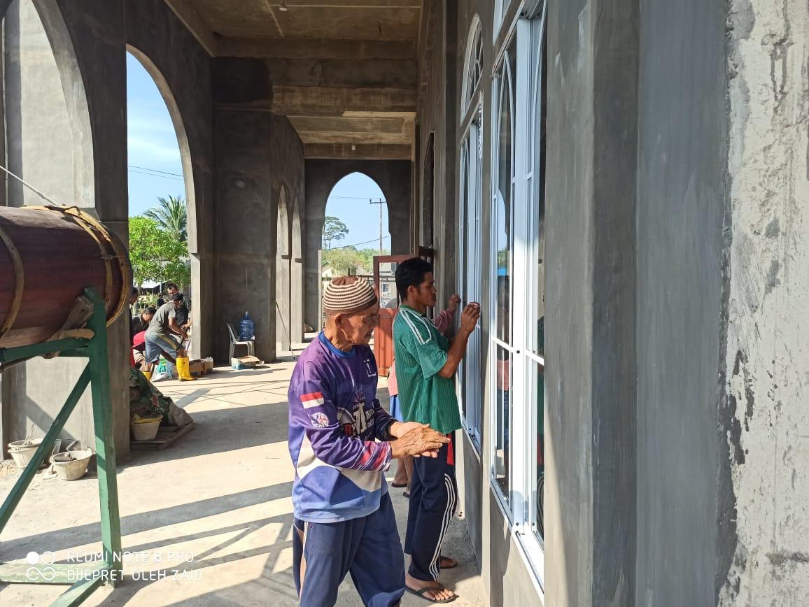 Tradisi Bersih Masjid Jelang Ramadan 1442 H