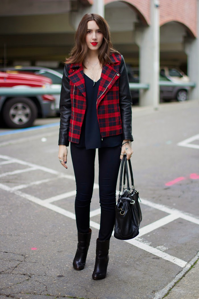 plaid-moto-jacket