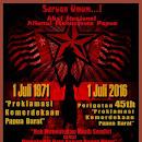 Ini Seruan AMP Peringati HUT Proklamasi Papua