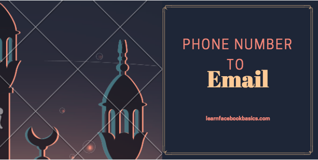 How to change your phone number to email on Facebook