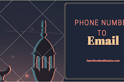How to change My phone number to email on Facebook