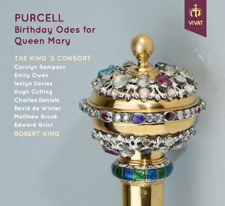 Henry Purcell Birthday Odes for Queen Mary; The King's Consort, Robert King; Vivat