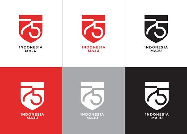 Logo HUT RI ke 75 Tahun