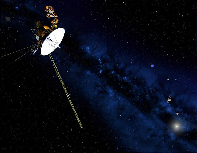 voyager 1 - ilustração - NASA