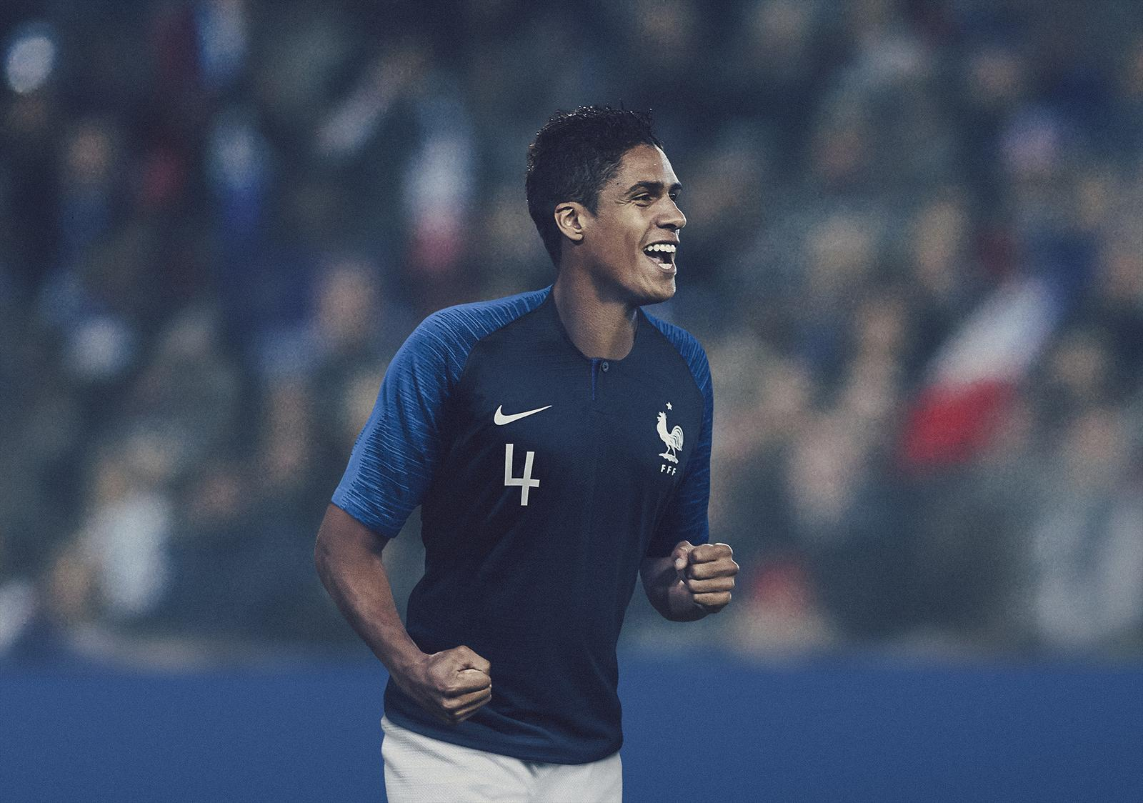 france 2018 world cup home kit revealed footy headlines