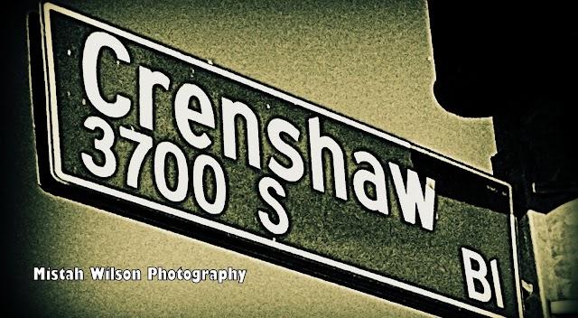 Crenshaw Boulevard, Los Angeles, California by Mistah Wilson