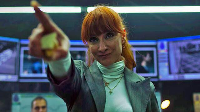 Nawja Nimri es Alicia Sierra en la temporada 3 de 'La Casa de Papel'