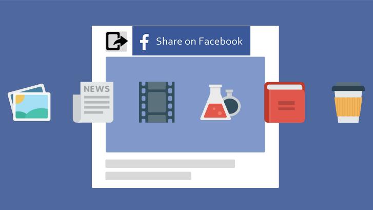 Cara Share Posting Di Facebook Dengan Nama Blog Kita