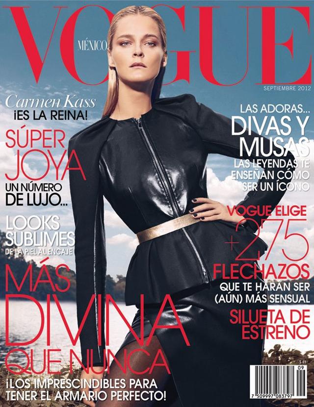 Carmen Kass Vogue Mexico Dior