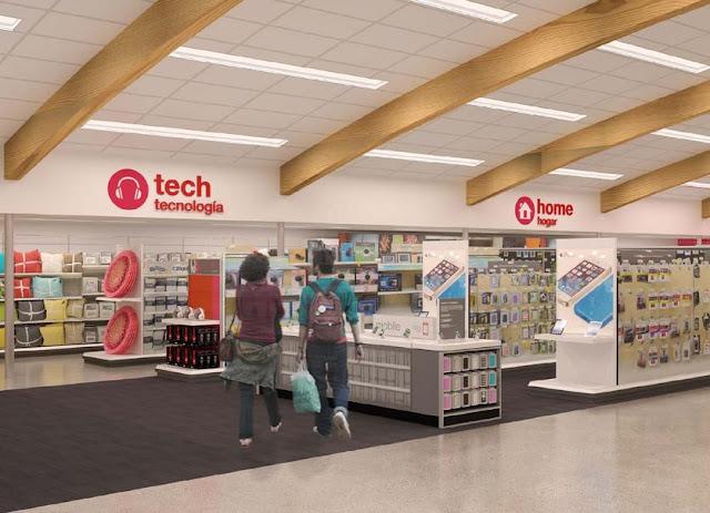 Loja e Supermercado Target em San Diego