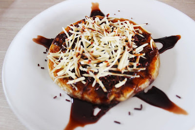 Roti Maryam Cokelat Keju