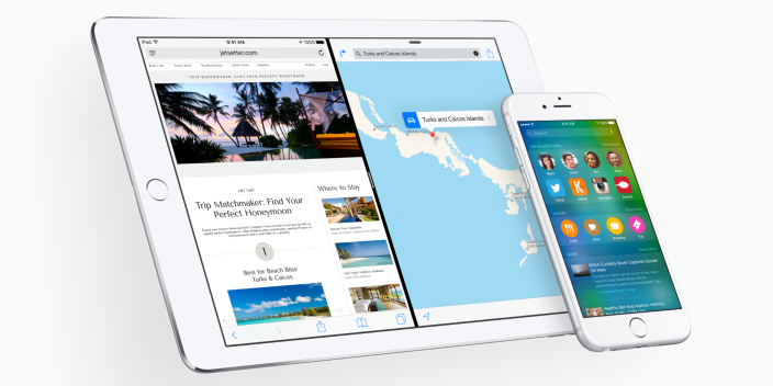 iOS 9 - iPad e iPhone
