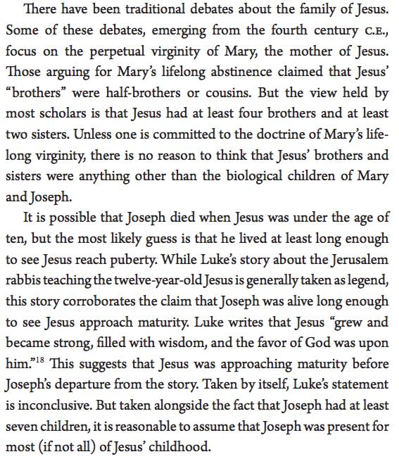 The Jesus Blog: Was Jesus Fatherless?
