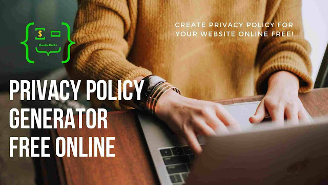 Online Privacy Policy Generator - FREE