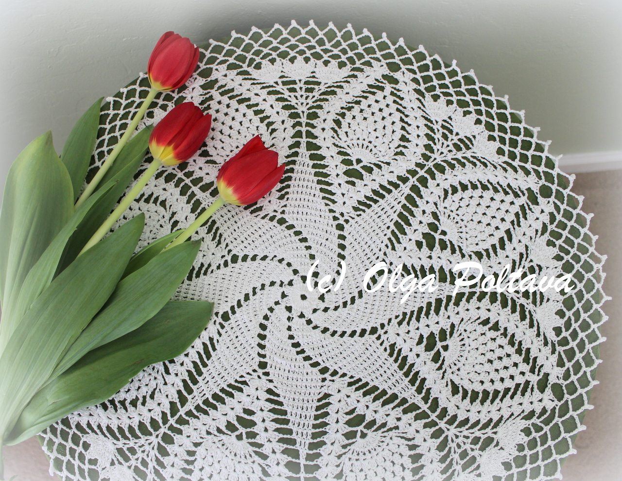Lacy crochet free doily patterns small crochet doily bankloansurffo Choice Image