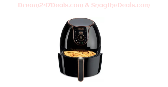 5.3-Qt. Digital Air Convection Fryer 14720, Created for Macy's  Sale $71.99