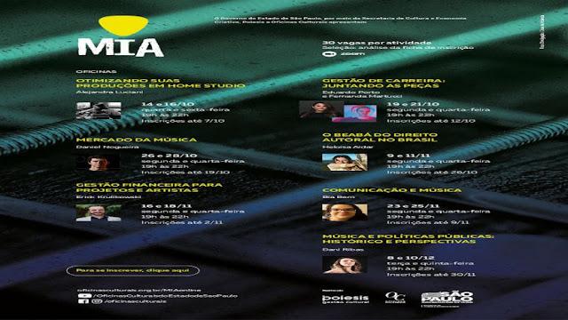 Festival MIA realiza oficinas culturais gratuitas - Adamantina Notìcias