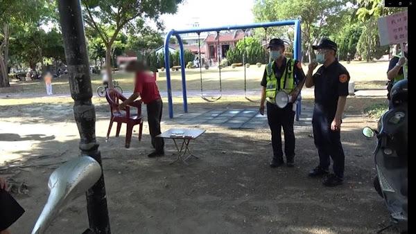 員林警分局加強防疫宣導措施 查獲泰籍女子從事性交易