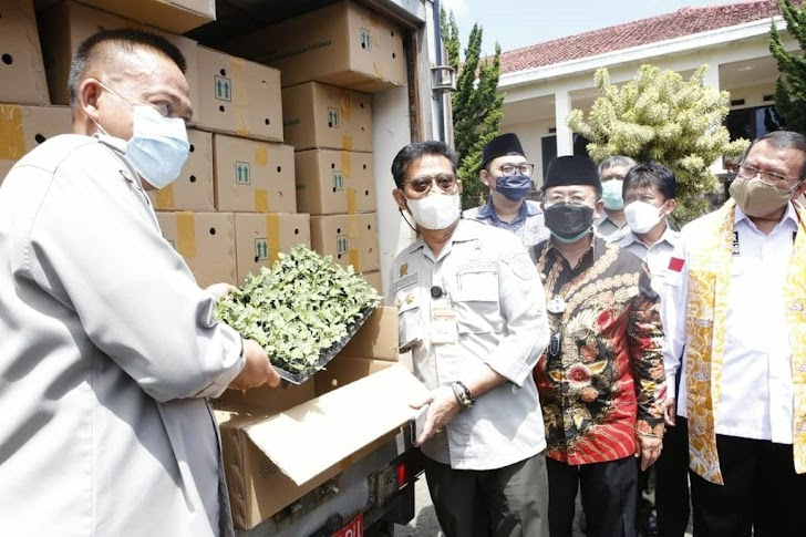 SYL Mentan, Indonesia Memiliki Kekayaan Genetik Florikultura (tanaman hias) Terbesar di Dunia