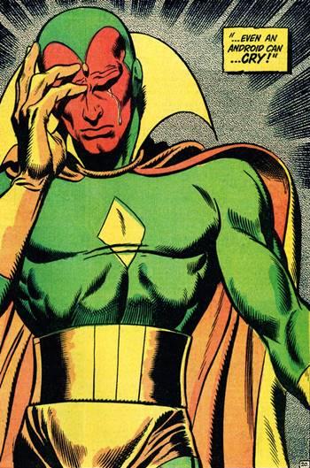 Visión es un poderoso superhéroe de cómic