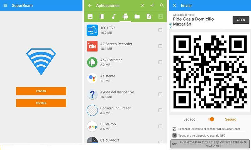 SuperBeam para Android