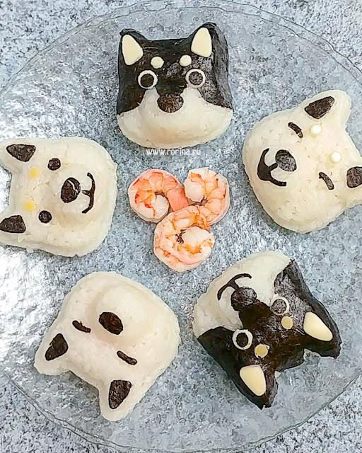 Как сделать животных из риса: детское меню с фото