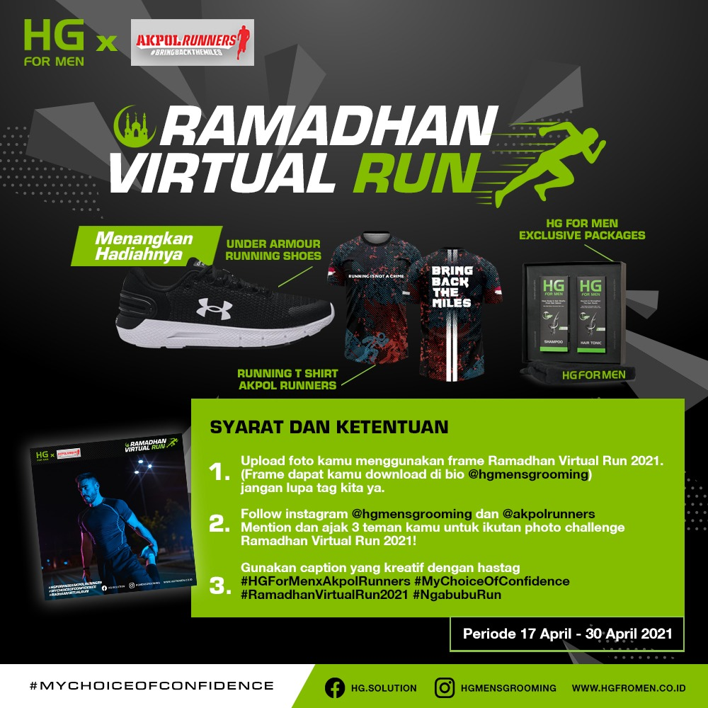 Photo Challenge - Ramadhan Virtual Run • 2021