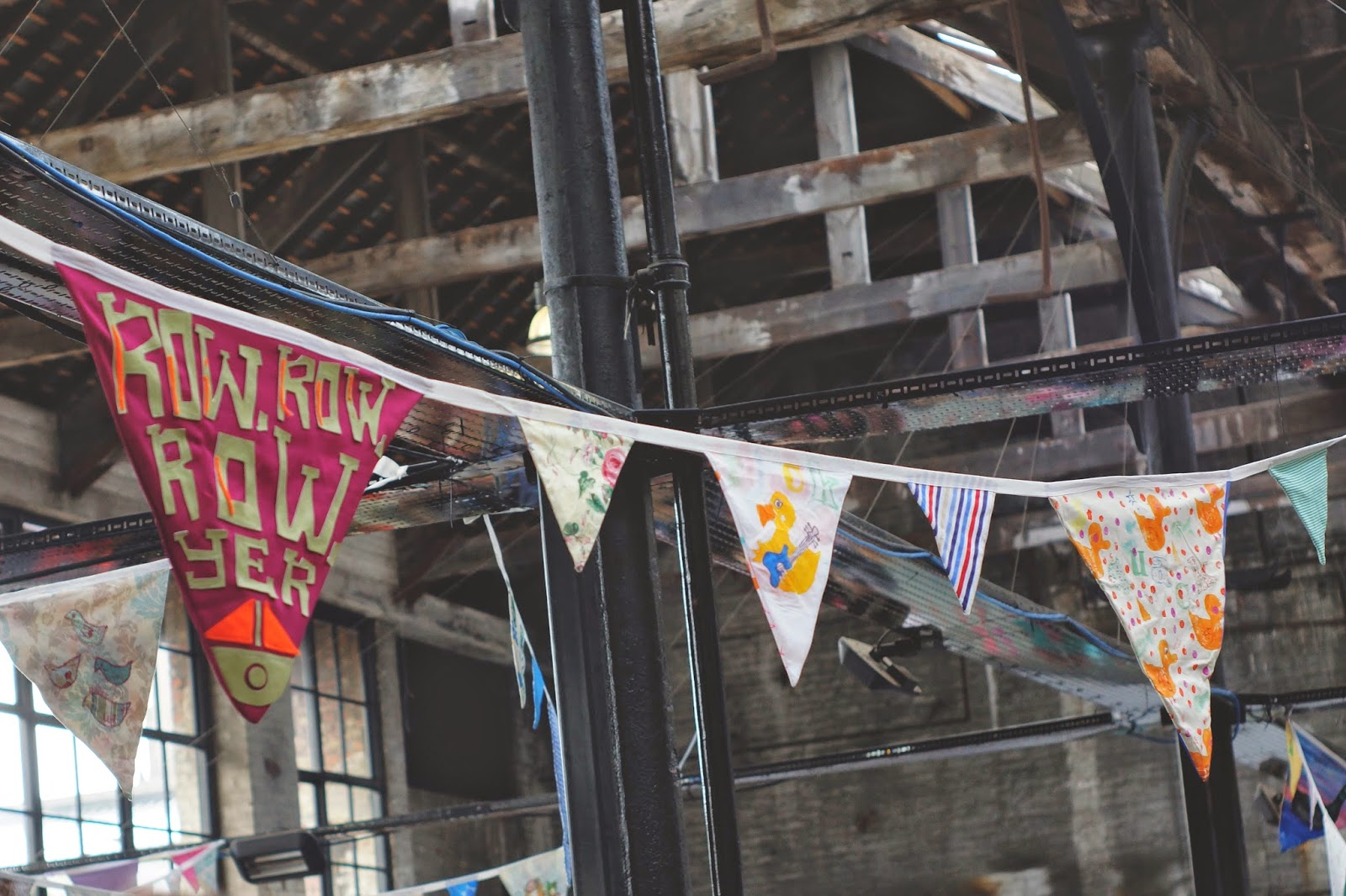 hello freckles tea and cake planet boiler shop bunting