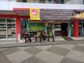 Fase New Normal, Kodim 0622 Kab. Sukabumi Siagakan Personel di Pusat Keramaian