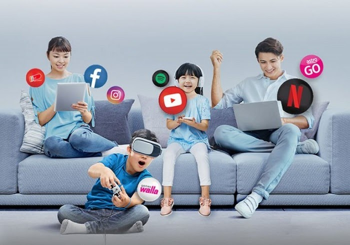 Celcom Unlimited 100Mbps Home Fibre Broadband For RM99