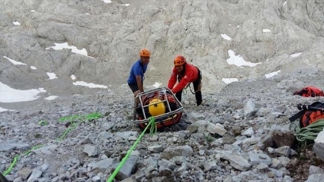 Un escalador rescatado en España recibe una factura de 5960 euros